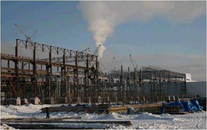 Omk Steel Metallurgical Industry Plant